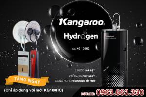 Máy lọc nước Kangaroo Hydrogen từ tính KG100HC 10 lõi lọc  VTU